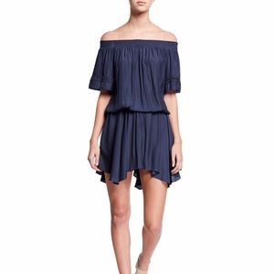RAMY BROOK Jessica Crochet Off-The-Shoulder Dress